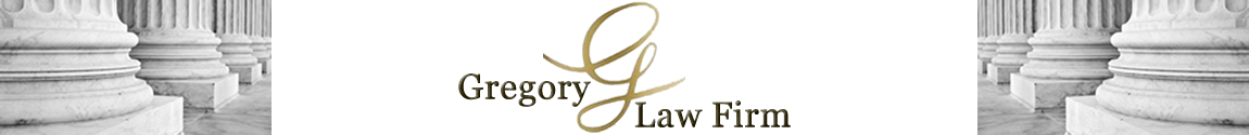 Gregory Law Firm Logo